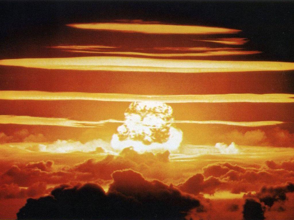 фотообои ядерный взрыв: